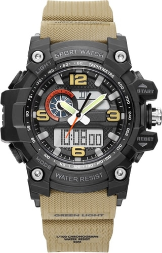 Наручные часы Twentyseventeen W008Q S (оливковый)