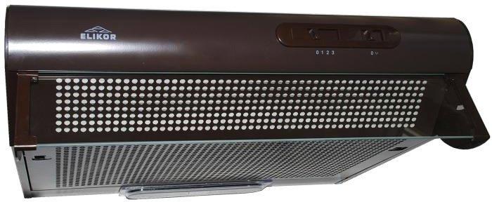 Кухонная вытяжка Elikor Davoline 60П-290-П3Л (коричневый)