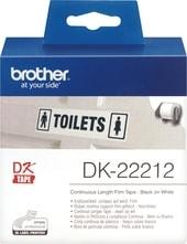 Лента Brother DK-22212 (62 мм, 15.24 м)