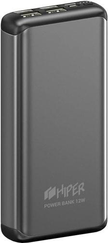 Портативное зарядное устройство Hiper MS20000 (серый)