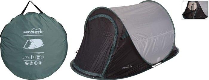 Треккинговая палатка Koopman Redcliffs (серый/зеленый)