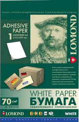 Самоклеящаяся бумага Lomond Самоклеющаяся А4 70 г/кв.м. 50 листов (2100005)