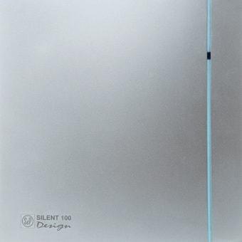 Осевой вентилятор Soler&Palau Silent-100 CHZ Silver Design 5210603600