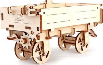 3Д-пазл Ugears Прицеп к трактору
