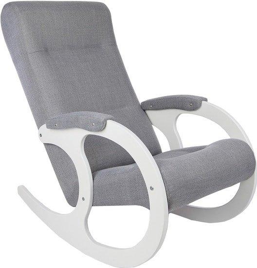 Кресло-качалка Бастион 3 (мемори 15/белый)