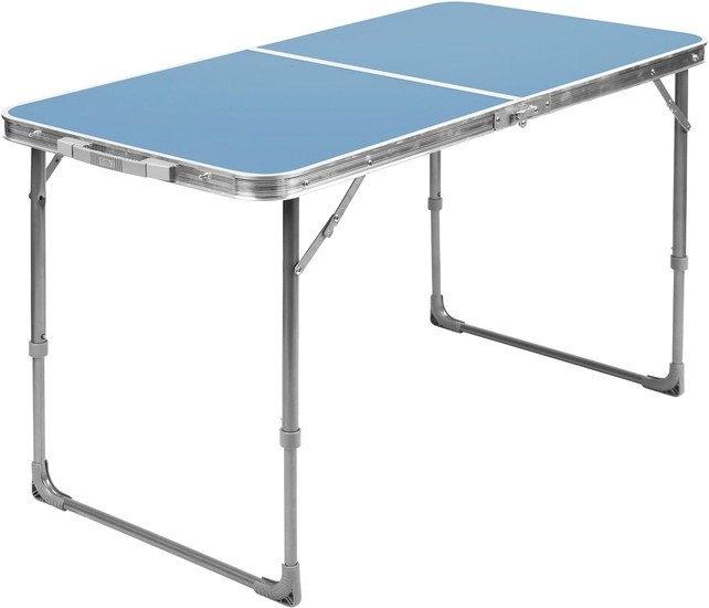 Стол Nika складной влагостойкий ССТ3 (голубой)