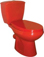 Унитаз Оскольская керамика Элисса (красный)