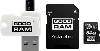 Карта памяти GOODRAM ALL in ONE microSDXC M1A4-0640R12 64GB