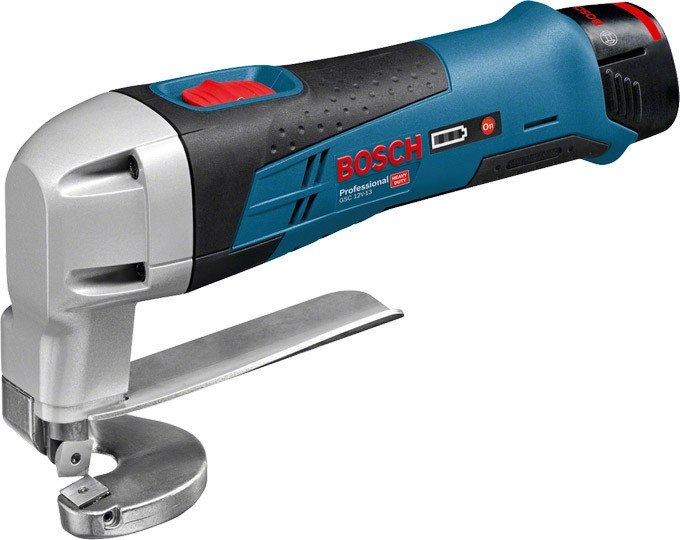 Листовые электрические ножницы Bosch GSC 12V-13 Professional (без аккумулятора и з/у)