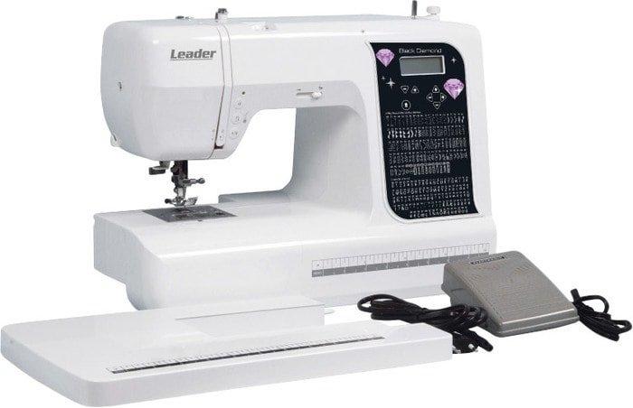 Компьютерная швейная машина Leader Black Diamond