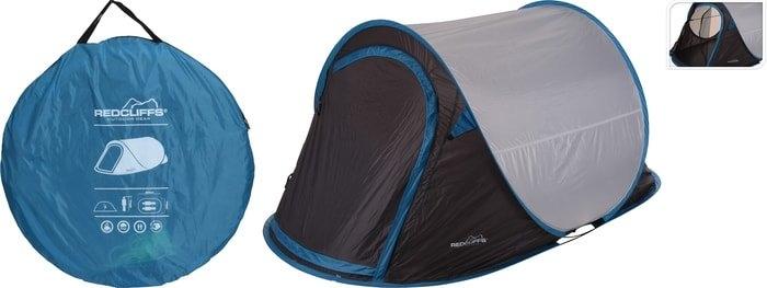 Треккинговая палатка Koopman Redcliffs (серый/синий)