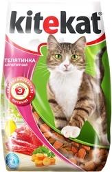 Сухой корм для кошек Kitekat Телятинка аппетитная 1.9 кг
