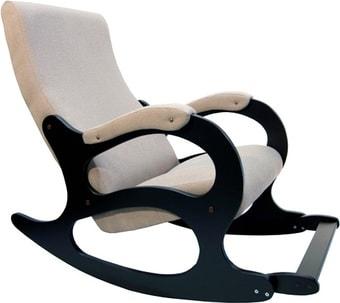 Кресло-качалка Бастион 4-2 с подножкой (рогожка, united 3)