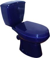 Унитаз Оскольская керамика Элисса (синий)