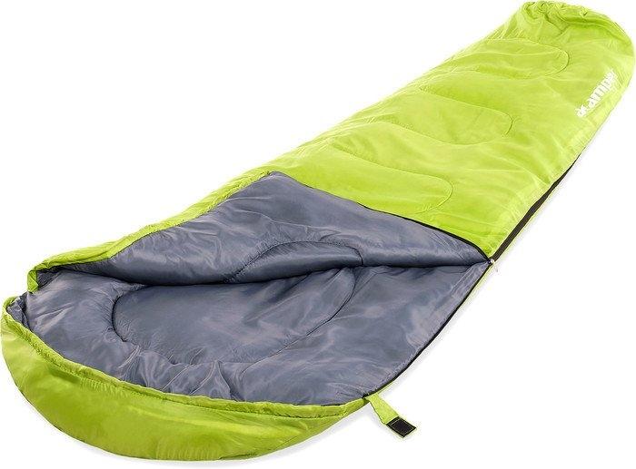Спальный мешок Acamper Кокон 150г/м2 (зеленый/серый)