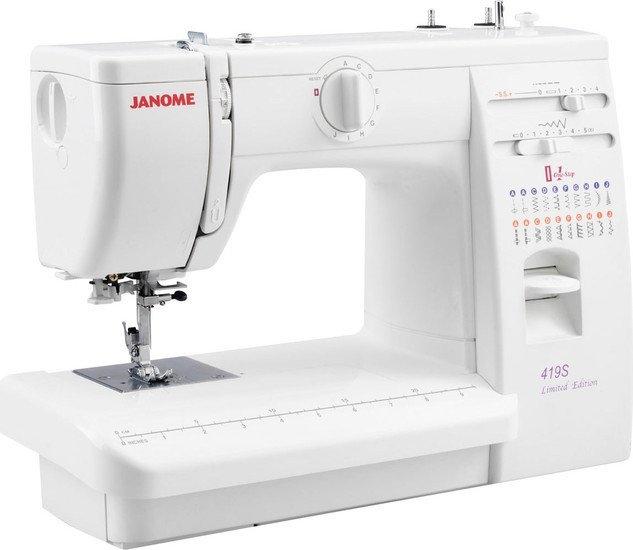 Электромеханическая швейная машина Janome 419S