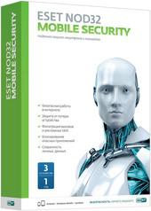Система защиты устройств NOD32 Mobile Security (3 устройства, 1 год)