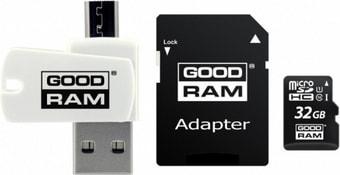 Карта памяти GOODRAM ALL in ONE microSDHC M1A4-0320R12 32GB