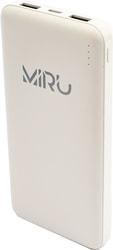 Портативное зарядное устройство Miru 3001 (белый)