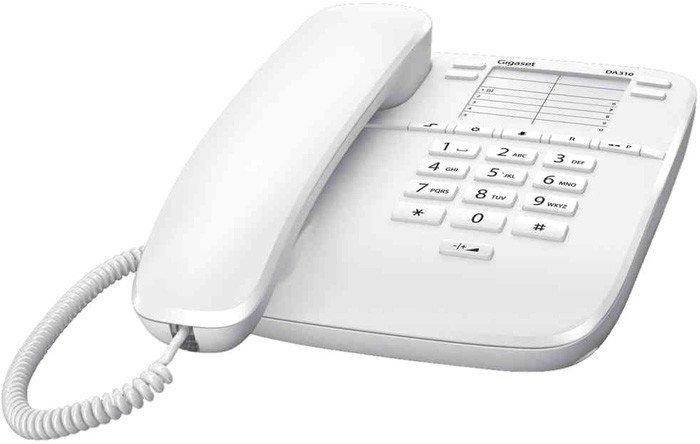 Проводной телефон Gigaset DA310 (белый)