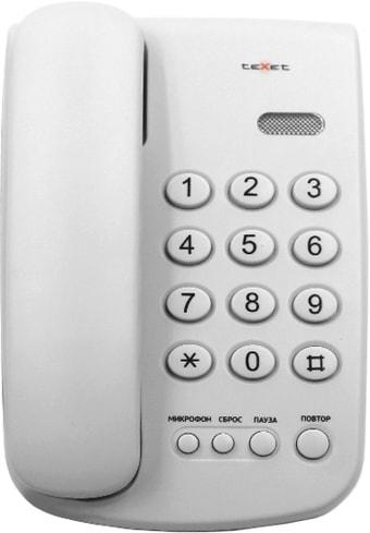 Проводной телефон TeXet TX-241 (белый)