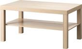 Журнальный столик Ikea Лакк (беленый дуб) [903.364.56]