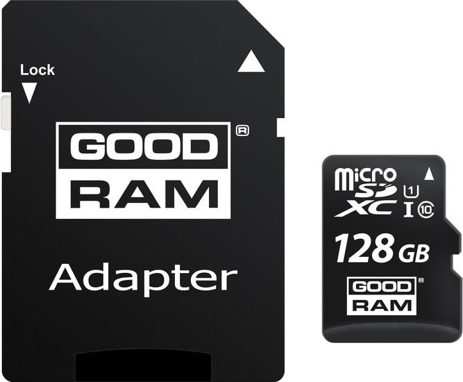Карта памяти GOODRAM M1AA microSDXC M1AA-1280R12 128GB (с адаптером)