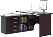 Компьютерный стол Сокол КСТ-109 левый (венге)