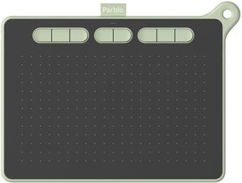 Графический планшет Parblo Ninos M (зеленый)