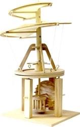 Сборная модель Bradex Воздушный винт Леонардо Да Винчи DE 0172