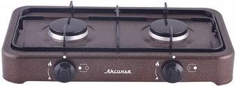 Настольная плита Аксинья КС-106 (коричневый)