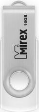 USB Flash Mirex SWIVEL WHITE 16GB (13600-FMUSWT16)