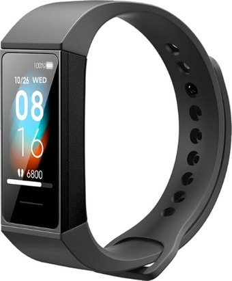 Фитнес-браслет Xiaomi Mi Smart Band 4C (черный, международная версия)