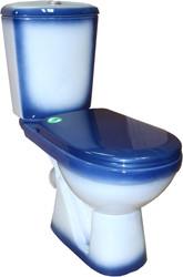 Унитаз Rosa Комфорт (синий)