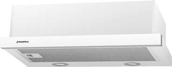Кухонная вытяжка MAUNFELD VS Light (Glass) 60 (белое стекло)