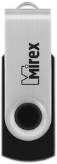 USB Flash Mirex Swivel Black 32GB [13600-FMURUS32]