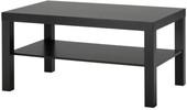 Журнальный столик Ikea Лакк (черный/коричневый) 703.985.82