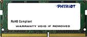 Оперативная память Patriot Signature Line 8GB DDR4 SODIMM PC4-19200 PSD48G240082S