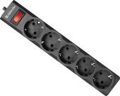 Сетевой фильтр Defender ES largo 5 (черный)