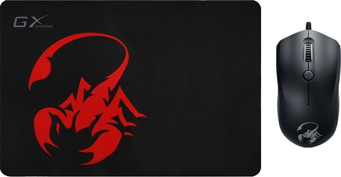 Мышь + коврик Genius Scorpion M6-400