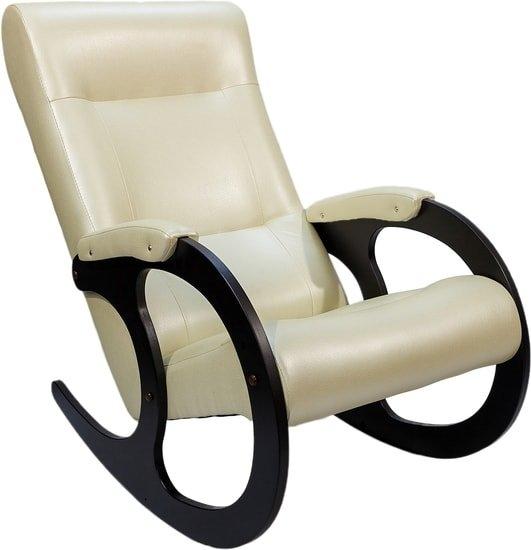 Кресло-качалка ТермоДАР Бастион 3 экокожа (bone)