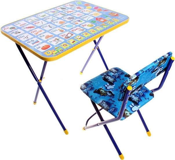 Складной стол Nika КП2 Азбука