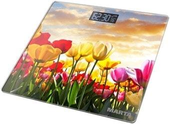 Напольные весы Marta MT-1678 (тюльпаны)
