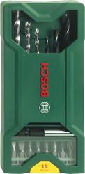 Универсальный набор инструментов Bosch X-Line 2607019579 15 предметов