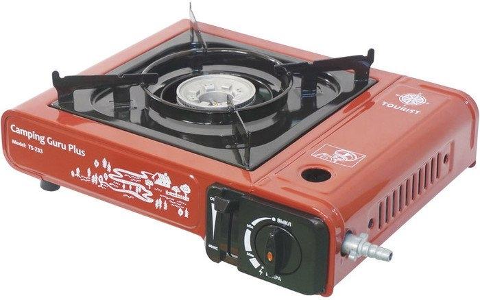 Туристическая плита Tourist Camping Guru Plus TS-233 (красный)