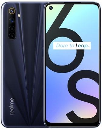 Смартфон Realme 6S 6GB/128GB международная версия (черный)