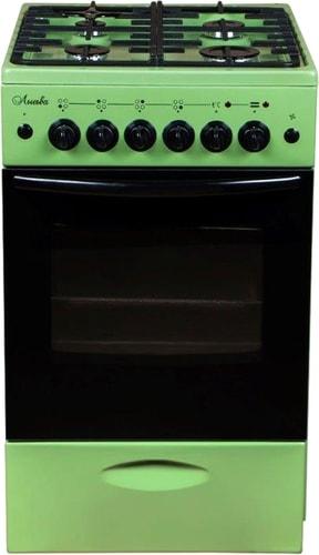 Кухонная плита Лысьва ЭГ 401 МС-2у (без крышки, решетка чугун, зеленый)