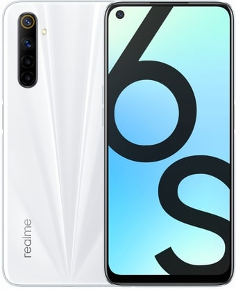Смартфон Realme 6S 6GB/128GB международная версия (белый)