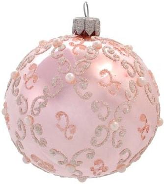 Елочная игрушка Орбитал Д-183-2 (розовый глянец) 200-012-4