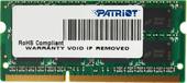 Оперативная память Patriot Signature Line 4GB DDR3 SO-DIMM PC3-12800 [PSD34G16002S]